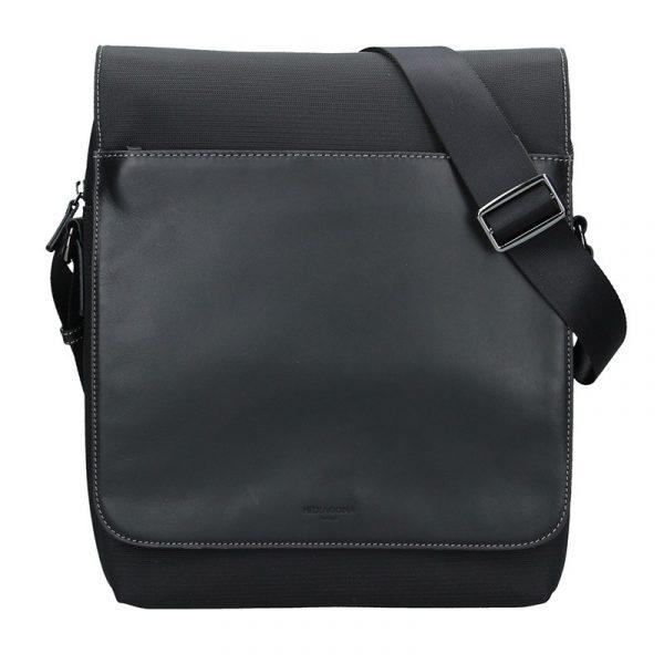 Pánská taška přes rameno Hexagona Vincent – černá