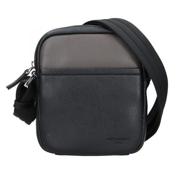 Pánská taška na doklady Hexagona Anders – černo-hnědá