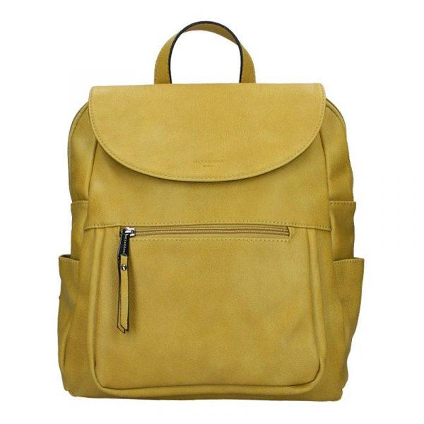 Dámský batoh Hexagona Amande – žlutá