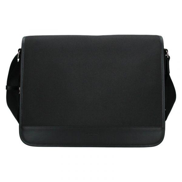Pánská taška přes rameno Hexagona Galeo – černá