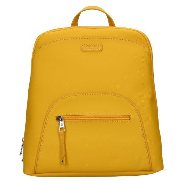 Dámský batoh Hexagona Bonia – žlutá