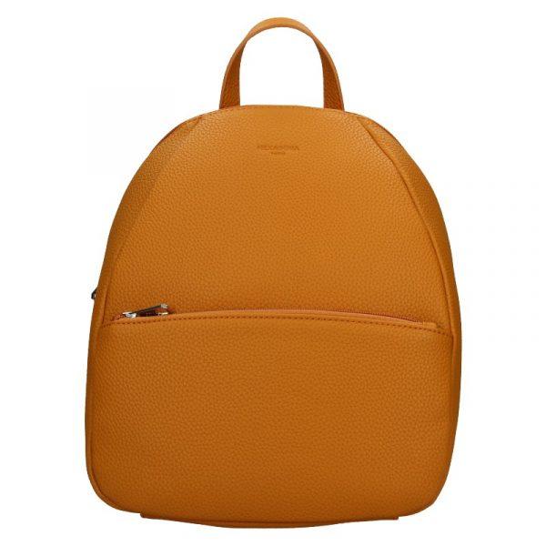 Dámský batoh Hexagona Mona – oranžovo-hnědá