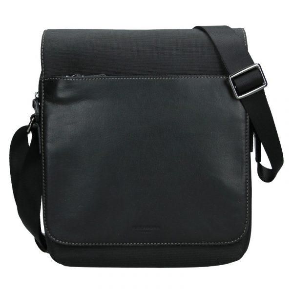 Pánská taška přes rameno Hexagona Denn – černá