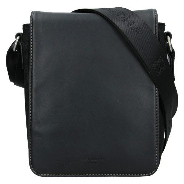 Pánská taška přes rameno Hexagona Pillus – černá
