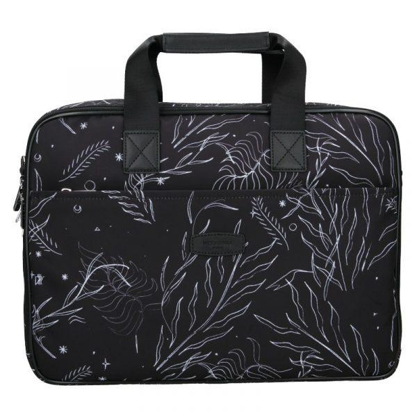 Dámská taška na notebook Hexagona Kerry – černá