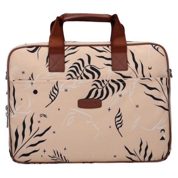 Dámská taška na notebook Hexagona Kerry – růžová