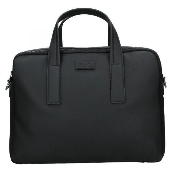 Pánská business taška přes rameno Hexagona Asphalte – černá