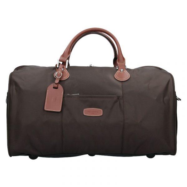 Unisex cestovní taška Hexagona Week – hnědá