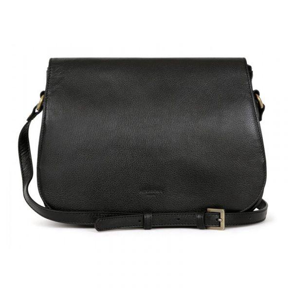 Dámská kožená kabelka Hexagona Giada – černá
