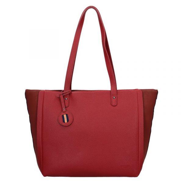 Dámská kabelka Hexagona Joanka – tmavě červená