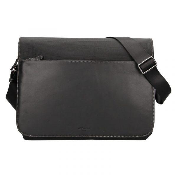 Pánská taška přes rameno Hexagona Davon – černá