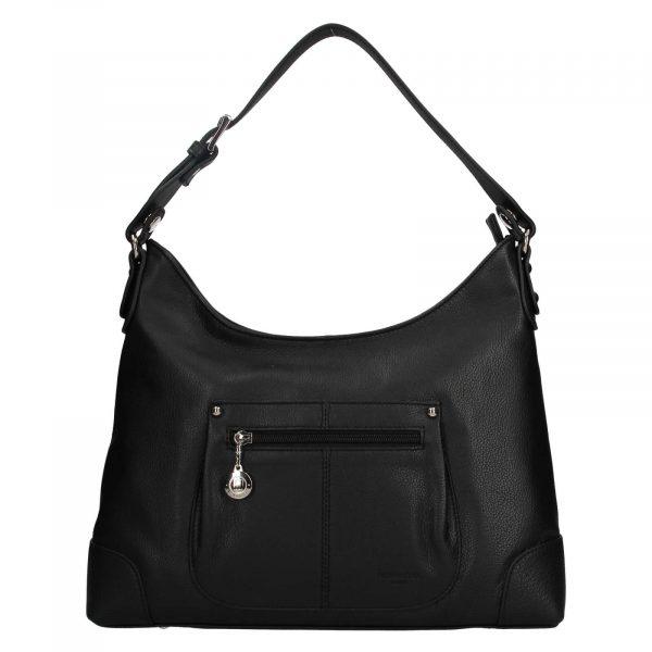 Dámská kožená kabelka Hexagona Emily – černá
